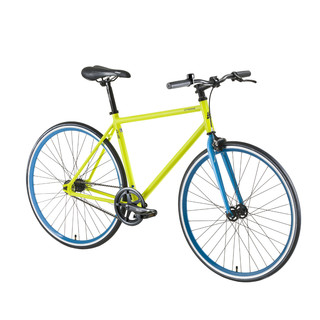 "Mestský bicykel DHS Fixie 2895 28"" - model 2016 - Green"