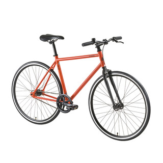 "Mestský bicykel DHS Fixie 2896 28"" - model 2016 - Orange"