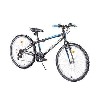 "Juniorský bicykel DHS Teranna 2421 24"" - model 2019 - Black"
