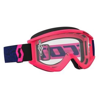 Motokrosové okuliare SCOTT Recoil Xi MXVII Clear - blue-fluo pink ... 797711fb894