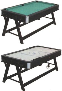 Spartan Billiard + Air hockey 2 v 1