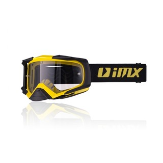 Motokrosové okuliare iMX Dust - Yellow-Black Matt