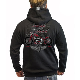 Mikina BLACK HEART Red Baron Chopper