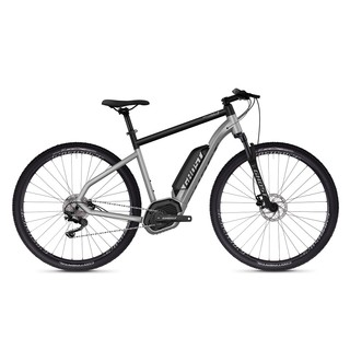 "Crossový elektrobicykel Ghost Hybride Square Cross B2.9 29"" - model 2019 - Iridium Silver / Jet Black"