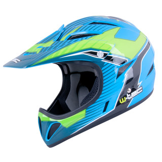 Freeride prilba W-TEC 3ride - Blue Sword