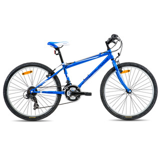 "Juniorský horský bicykel Galaxy Aries 24"" - model 2016 - modrá"