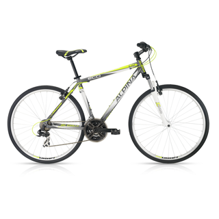 Crossový bicykel Alpina ECO C10 grey lime - model 2016