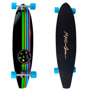 Longboard Maui COOKIE STRIPE KICKTAIL 39""