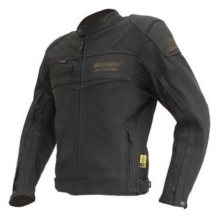 0bf2176cc Pánska moto bunda Spark Mike - matne čierna