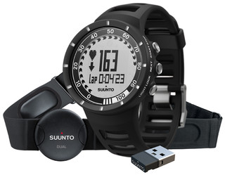 Športtester Suunto Quest Black
