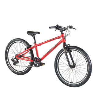 "Juniorský bicykel Devron Urbio U1,4 24"" - model 2016 - Orange Mandarin"