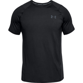 Pánske tričko Under Armour Raid 2.0 SS Left Chest - Black