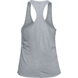 Dámske funkčné tielko Under Armour Threadborne Streaker Tank - Steel Light Heather