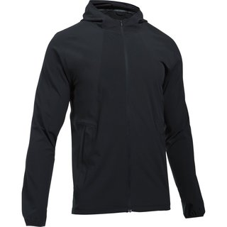 Pánska bežecká bunda Under Armour Outrun The Storm Jacket - Black