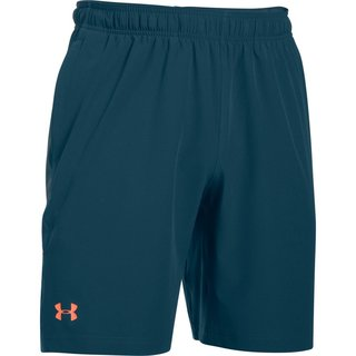 Pánske šortky Under Armour Center Court 8in Woven Shorts - Blue Whale/Atomic Gray/Salmon