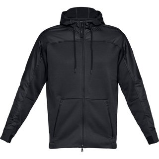 Pánska mikina Under Armour Unstoppable Coldgear Swacket - Black/Black