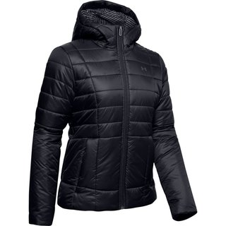 Dámska bunda Under Armour UA Armour Insulated Hooded Jkt - Black