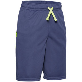 Chlapčenské kraťasy Under Armour Prototype Wordmark Shorts - Blue Ink
