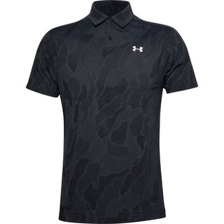 Pánske tričko s límcom Under Armour Vanish Jacquard Polo - Black