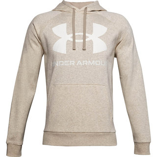 Pánska mikina Under Armour Rival Fleece Big Logo HD - Highland Buff Light Heather