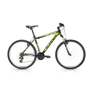"Horský bicykel ALPINA ECO M20 black-lime 26"" - model 2016"