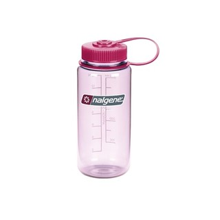 Outdoorová fľaša NALGENE Wide Mouth 500 ml - Clear Pink 16 WM