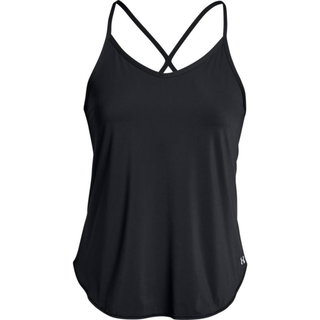 Dámske tielko Under Armour Free Cut Strappy Tank - BLACK / BLACK / METALLIC IRON