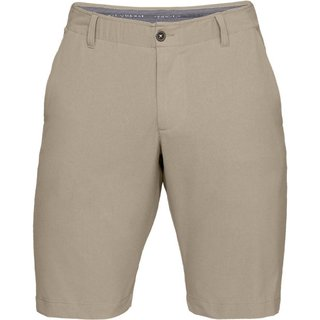Pánske golfové kraťasy Under Armour Takeover Vented Short Taper - CITY KHAKI