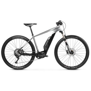 "Horský elektrobicykel Kross Level Boost 2.0 SE 29"" - model 2019 - Black / Graphite / Silver Glossy"