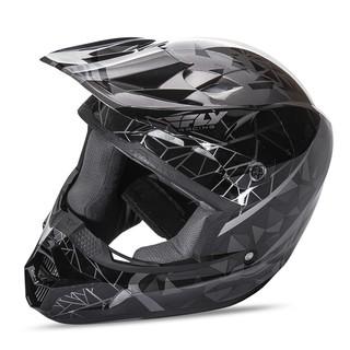 Motokrosová prilba Fly Racing Kinetic Crux - čierna