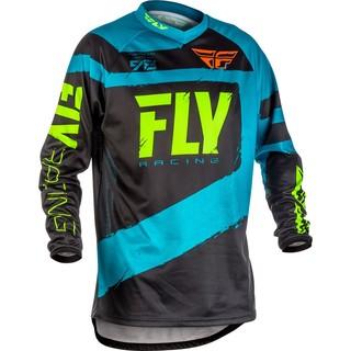 Motokrosový dres Fly Racing F-16 2018 - modro-čierna