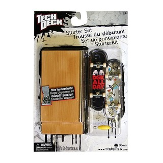 Tech Deck StarterKit set box