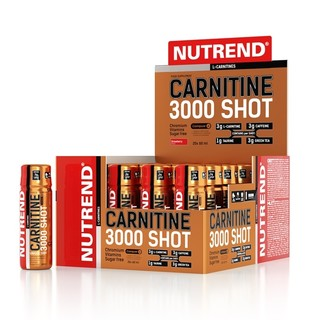 Karnitín Nutrend Carnitine 3000 SHOT 20x60 ml