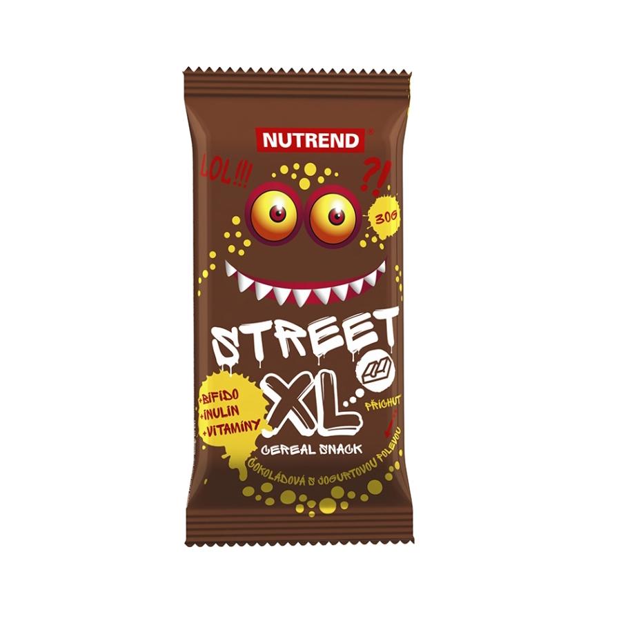 Tyčinka Nutrend 30g Street XL čokoláda s jogurtovou polevou