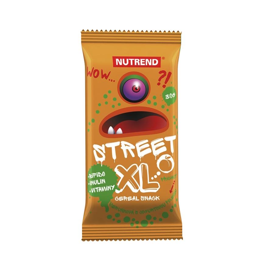 Tyčinka Nutrend 30g Street XL marhuľa s jogurtovou polevou