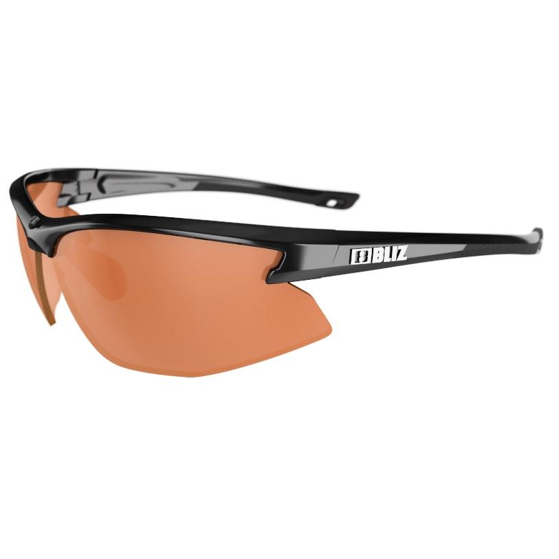 f4ed3df52 Športové slnečné okuliare Bliz Motion - čierna s oranžovými sklami ...