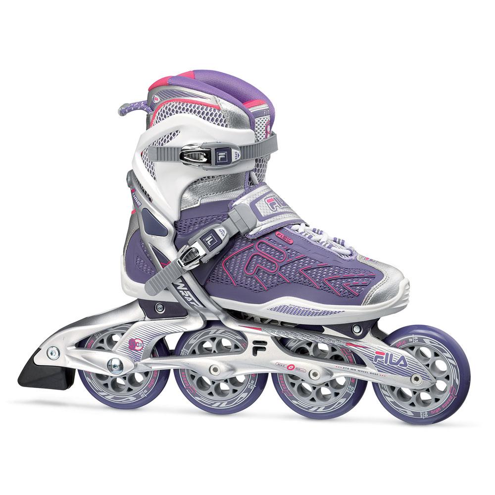 Dámske kolieskové korčule Fila Plume X-Wrap 90 - Model 2014 38