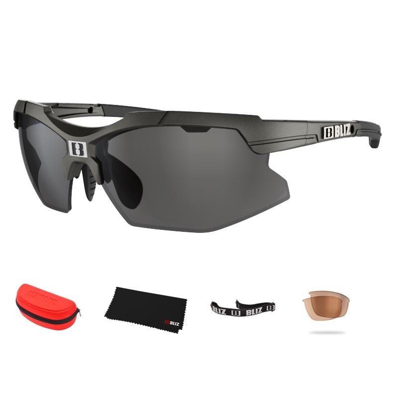Športové slnečné okuliare Bliz Force čierne