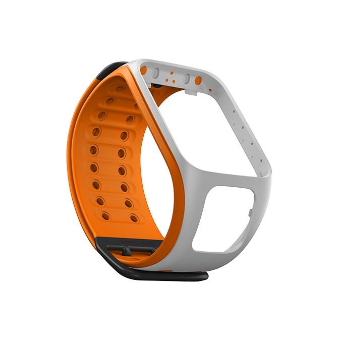 Remienok ku športtesteru TomTom svetlosivo / oranžový