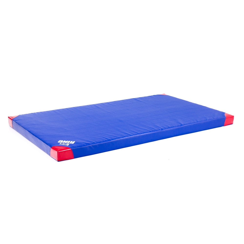 Protišmyková gymnastická žinenka inSPORTline Anskida T60 200x120x10 cm modrá