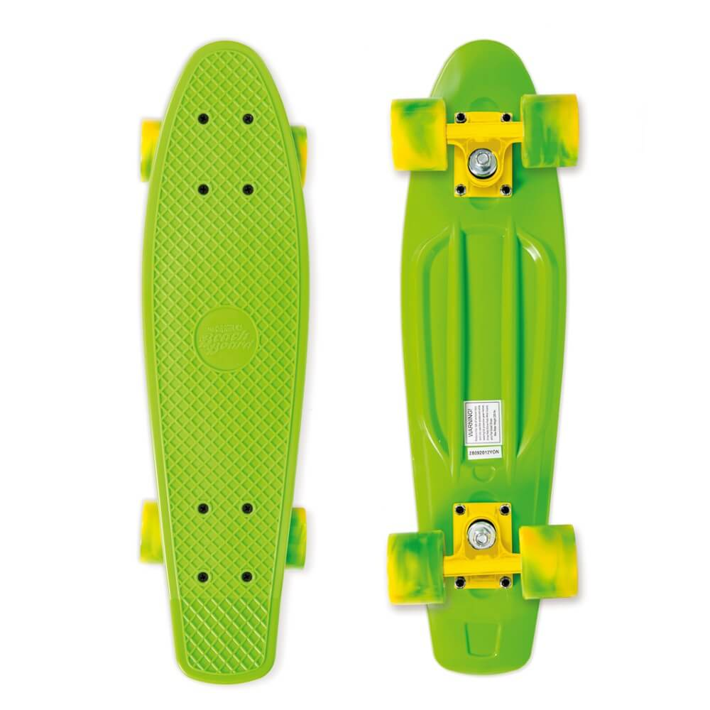Pennyboard Street Surfing Beach Board California Dream, zelená