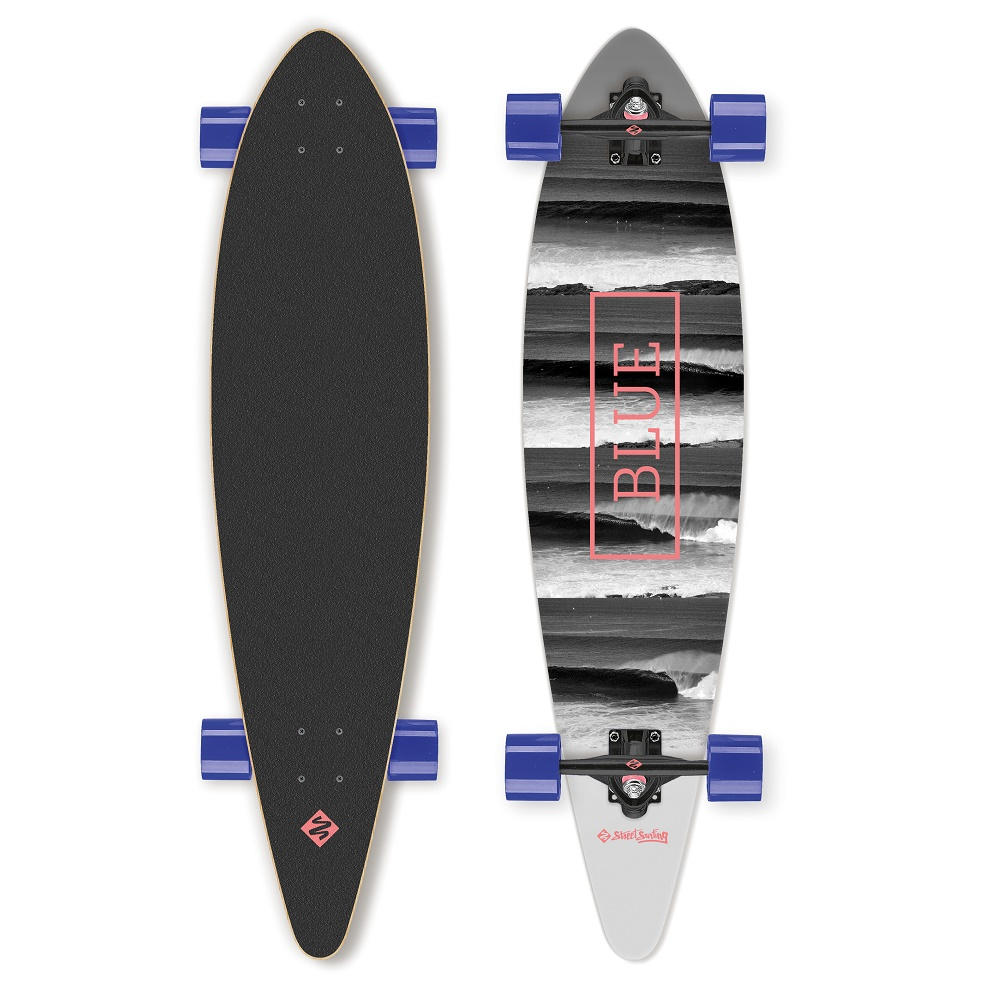 """Longboard Street Surfing Pintail - Surfs Up 40"""""""