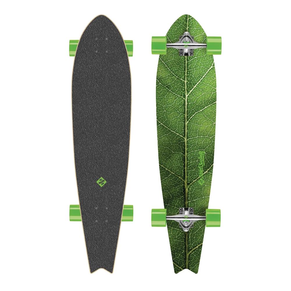 """Longboard Street Surfing Fishtail - The Leaf 42"""""""