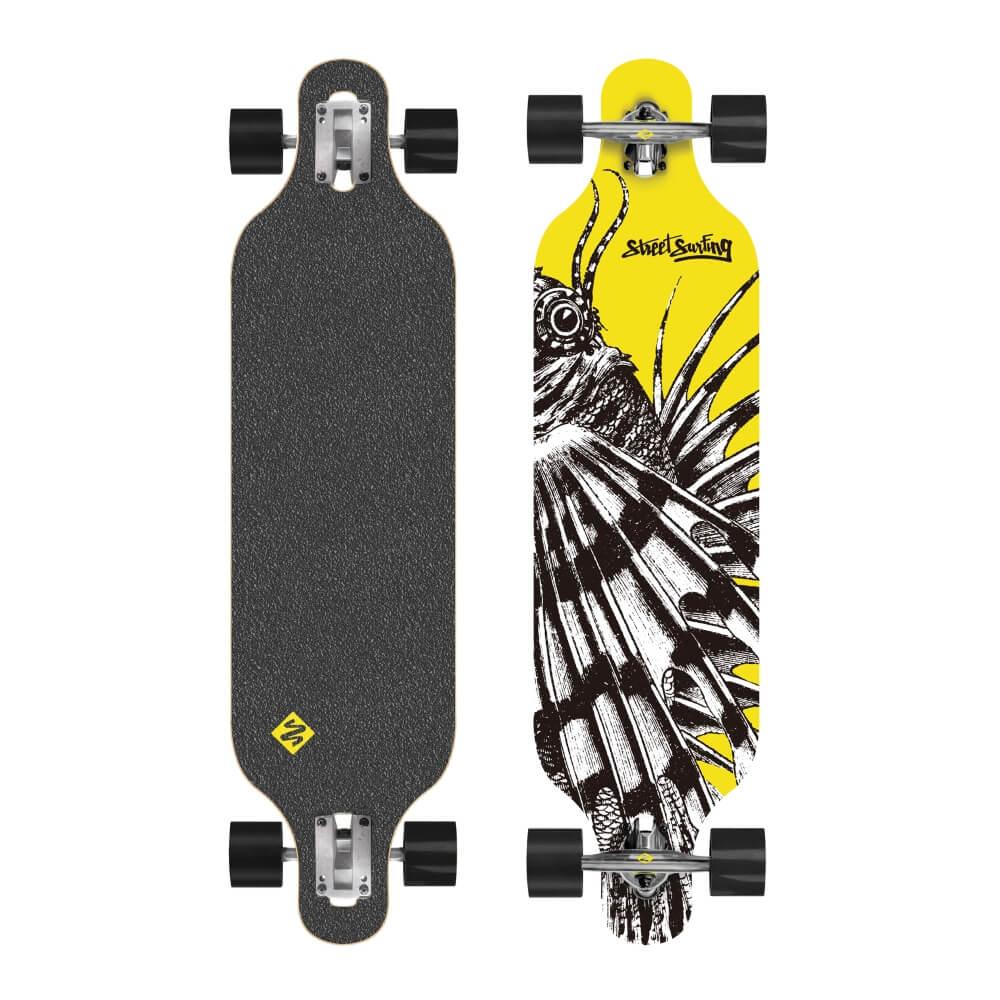 """Longboard Street Surfing Freeride - Dragon 39"""""""