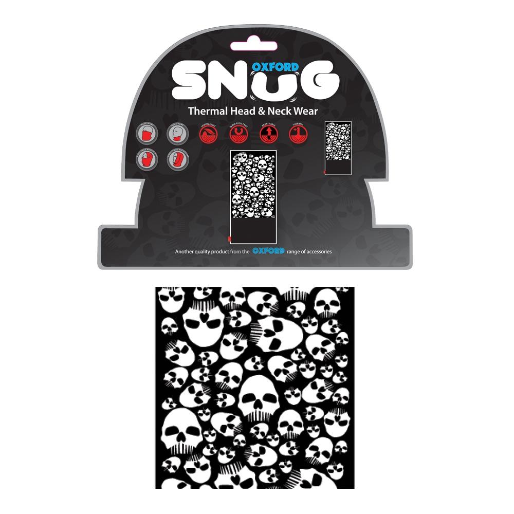Univerzálny multifunkčný nákrčník Oxford Snug Skulls
