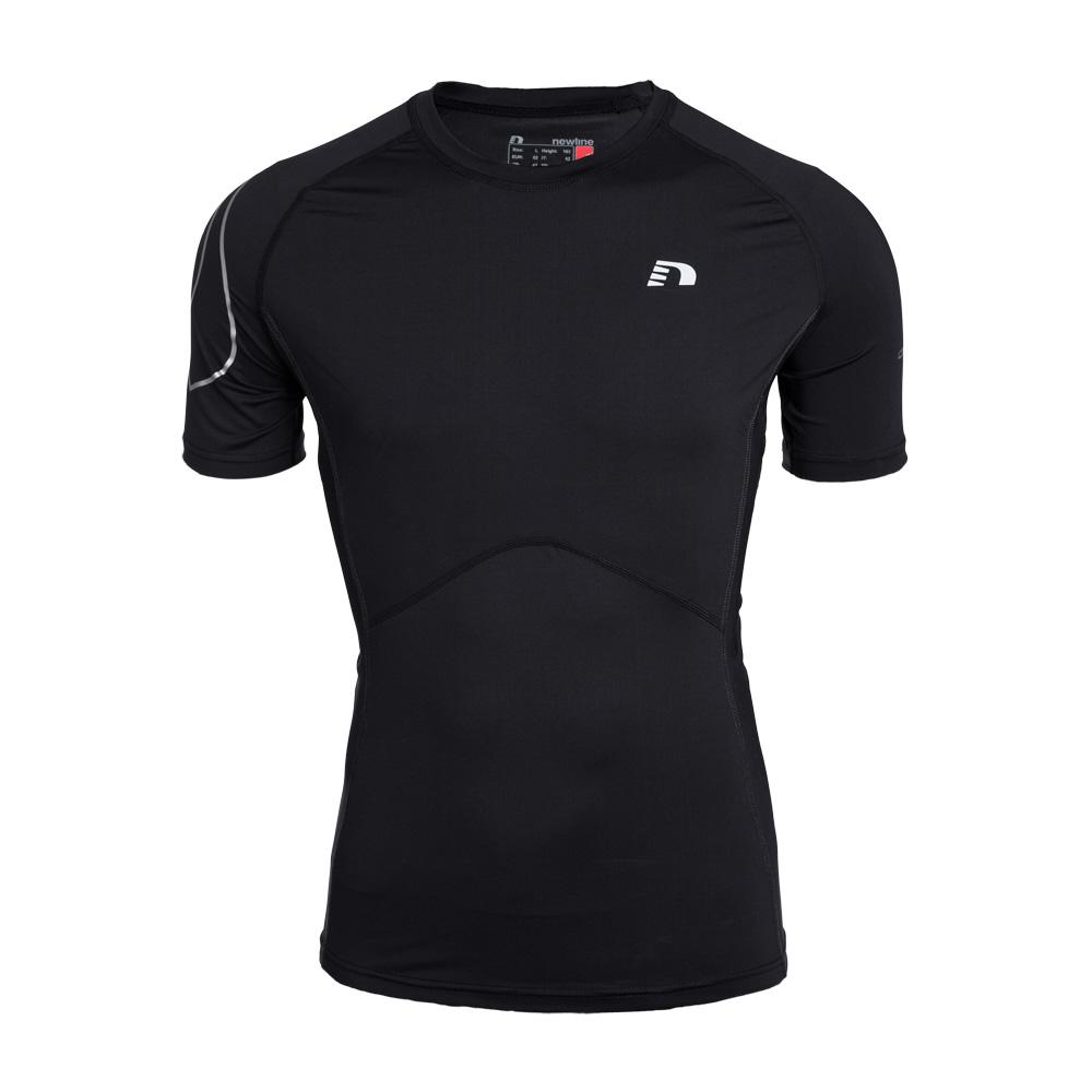 Unisex bežecké kompresné tričko Newline ICONIC krátky rukáv