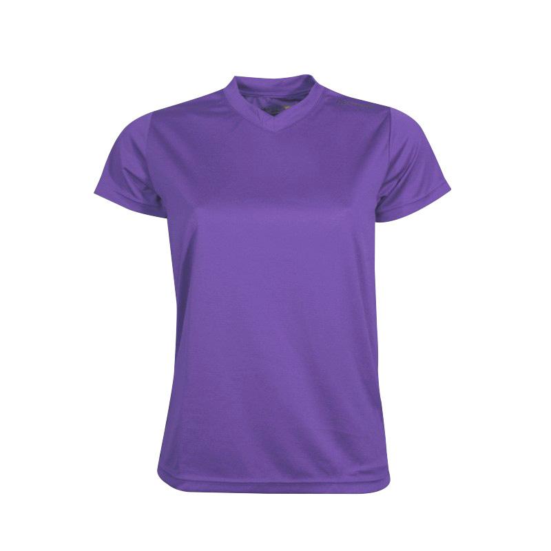 66b891a14118 Dámske športové tričko s krátkym rukávom Newline Base Cool Tee fialová - L