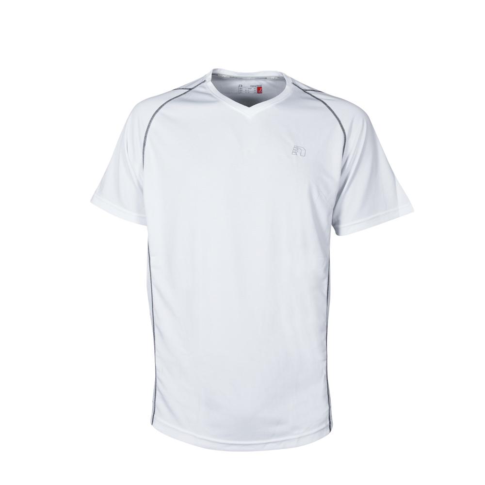 Pánske bežecké tričko Newline Base Coolskin Tee biela - S