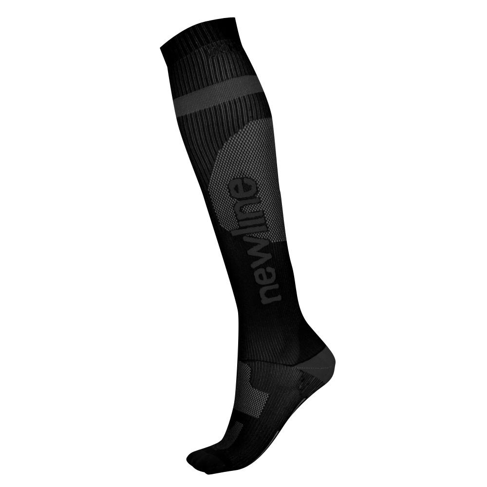 Kompresné bežecké podkolienky Newline Compression Sock čierna - L (39-42)