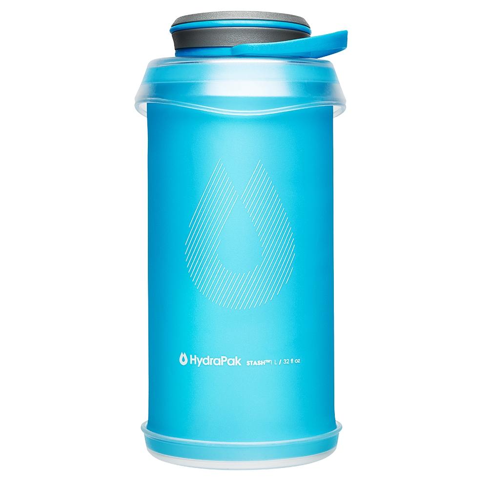 Skládacia fľaša HydraPak Stash Bottle 1 l Malibu Blue